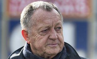 Jean-Michel Aulas n'a guère goûté aux déclarations de Leonardo Jardim vendredi à Caen.