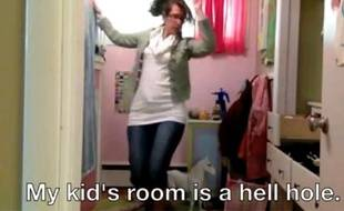 Capture d'écran de la parodie de la vidéo «I quit» de Marina Shifrin