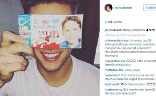 Josh Bateson sur Instagram