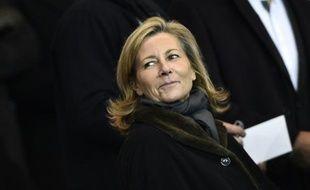 La présentatrice du JT de TF1, Claire Chazal, le 17 février 2015 à Paris