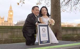 Le couple de mariés le plus petit du monde