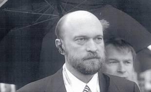 Capture d'écran du site d'Interpol dévoilant le portrait de Serguei Pougatchev.