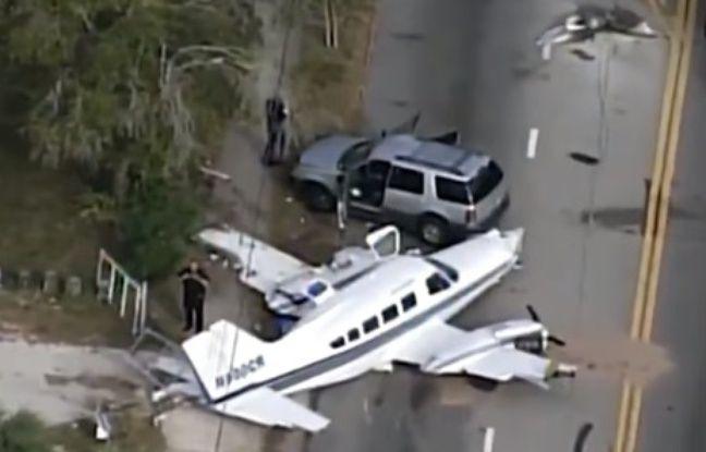 nouvel ordre mondial | VIDEO. Floride: Un avion s'écrase dans une rue de St. Petersburg