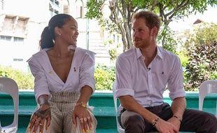 Rihanna et le prince Harry