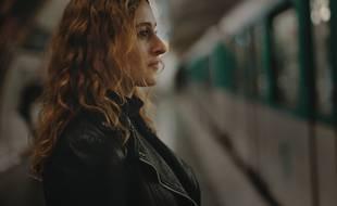 Une photo du court-métrage de Manon Montrouge avec l'actrice Jade Vergnes.