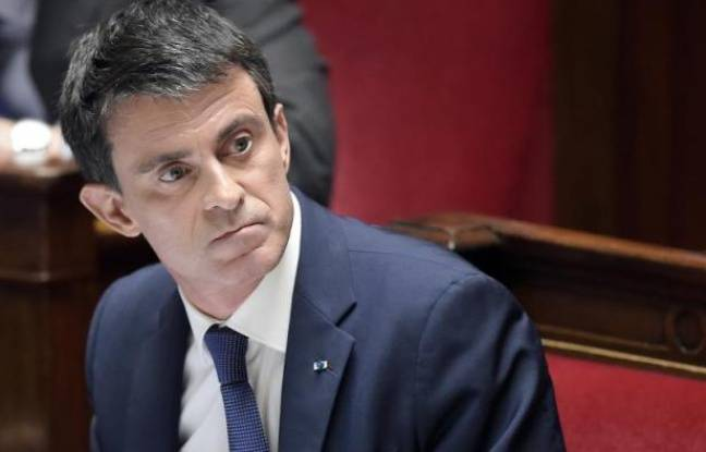 Manuel Valls à l'Assemblée nationale, le 31 mars 2015