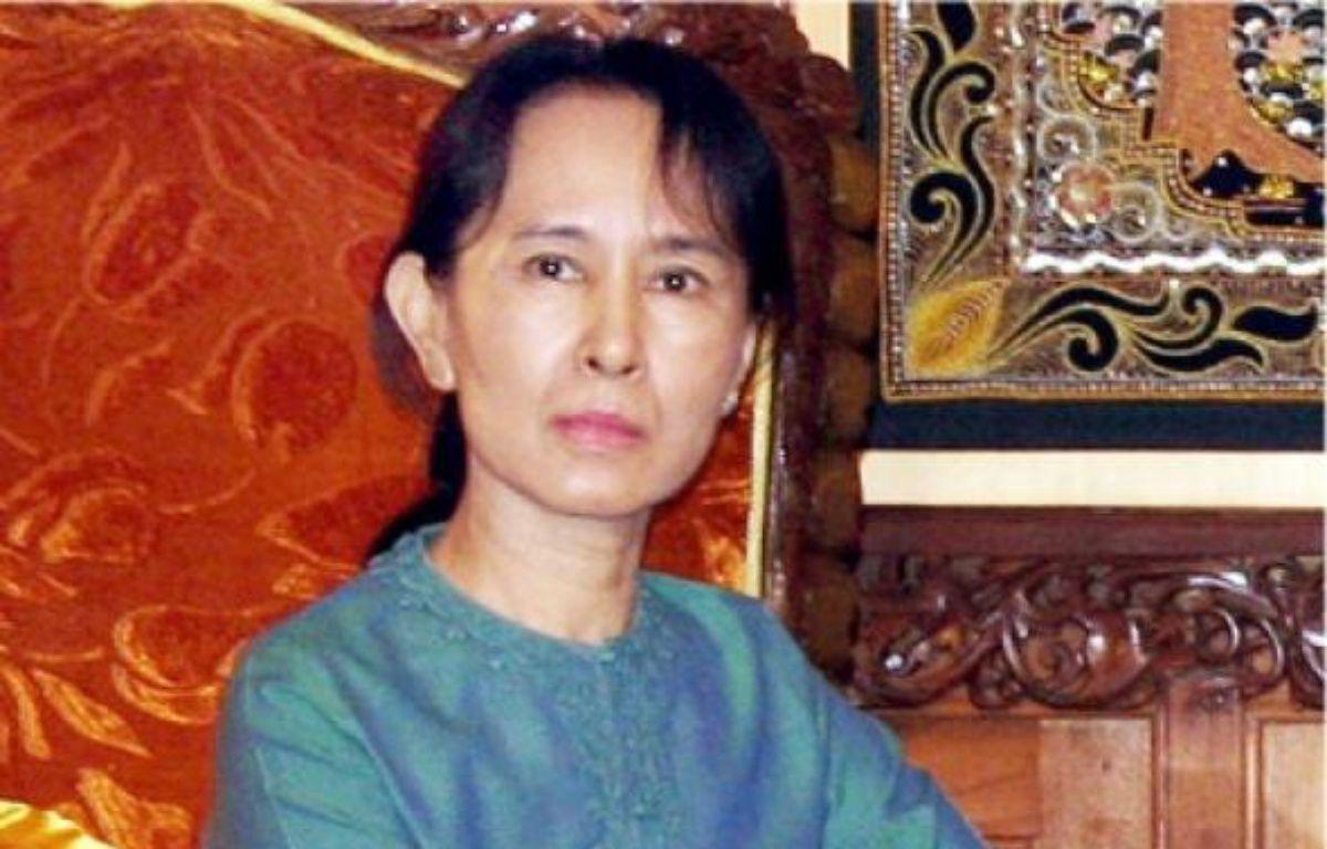 La démocrate Aung San Suu Kyi est assignée à résidence depuis 1989. –  AFP
