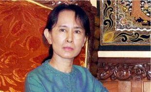 La démocrate Aung San Suu Kyi est assignée à résidence depuis 1989.