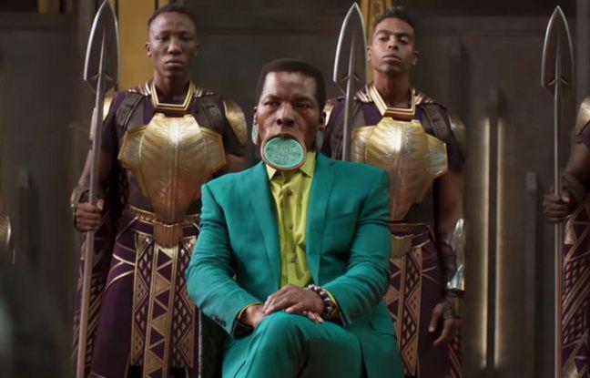 Un costume de «Black Panther» mêlant tradition et modernité