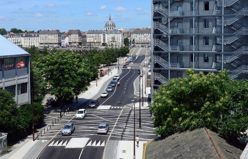 Nantes Le nouveau boulevard LonBureau ondule et ce nest pas