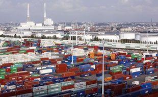 Port du Havre (Illustration).