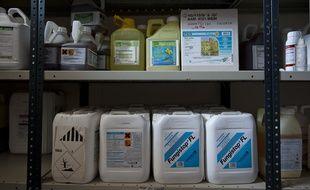 e 05 avril 2012. Pesticides dans une expoitation argicole de l'Esonne.  // PHOTOS : V. WARTNER/20 MINUTESL