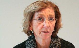 Nicole bricq, la ministre du Commerce extérieur le 17 décembre 2012.