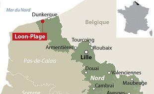Loon-Plage, près de Dunkerque, dans le Nord