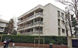 Le cambriolage a eu lieu dans cet immeuble de Boulogne-Billancourt.
