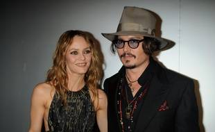 L'acteur Johnny Depp et la chanteuse Vanessa Paradis en 2010