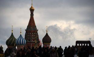 La Place rouge à Moscou, illustration