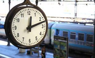 A la gare Matabiau. Illustration