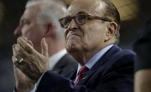 L'ancien maire de New York Rudy Giuliani.
