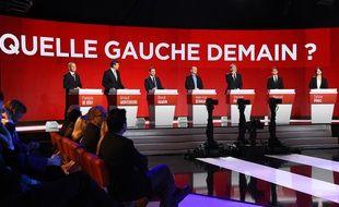 Diffusé sur BFM TV, RMC et iTélé, le deuxième débat de la primaire socialiste n'a pas attiré les foules