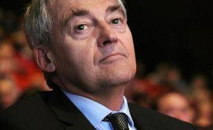 Le président de la RATP Pierre Mongin le 28 avril 2015 à Paris