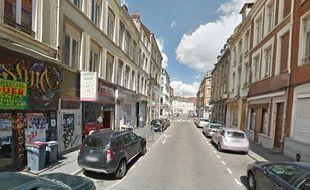 Le Restau Soleil, rue Henri Kolb à Lille.