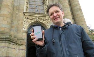 Avant YouPray, Timothée Berthon avait déjà lancé un site de téléchargement catholique.