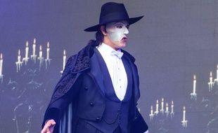 Une représentation de la comédie musicale Le Fantôme de l'Opéra dans le West End à Londres