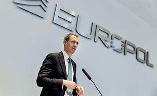 Rob Wainwright, directeur de l'agence Europol, le 22 février 2016 aux Pays-Bas.