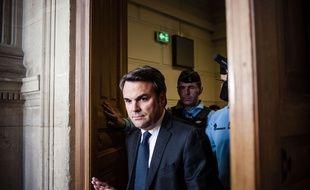 Thomas Thevenoud au tribunal correctionnel de Paris le 19 avril 2017.