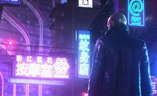 Non, ce n'est pas votre avatar dans «Cyberpunk 2077», mais l'agent 47 ans «Hitman 3»