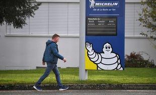 Le site Michelin de La Roche-sur-Yon.