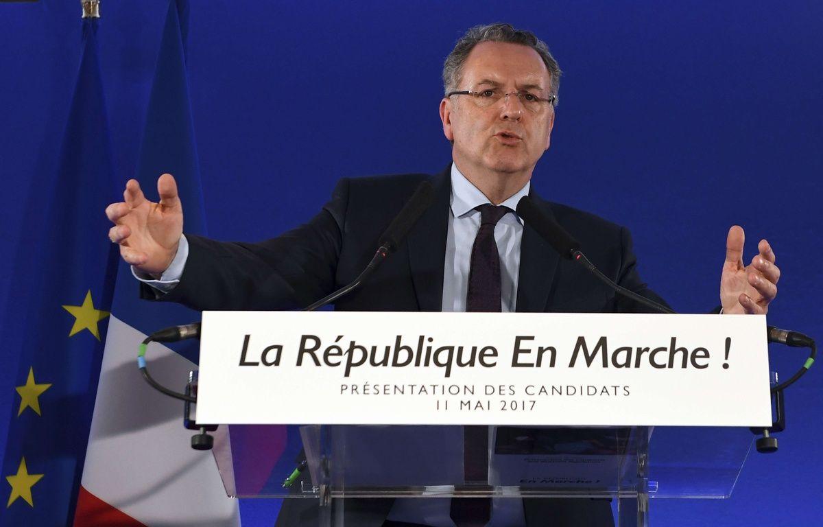 Richard Ferrand, le 11 mai 2017 à Paris. – Eric Feferberg/AP/SIPA
