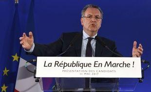Richard Ferrand, le 11 mai 2017 à Paris.