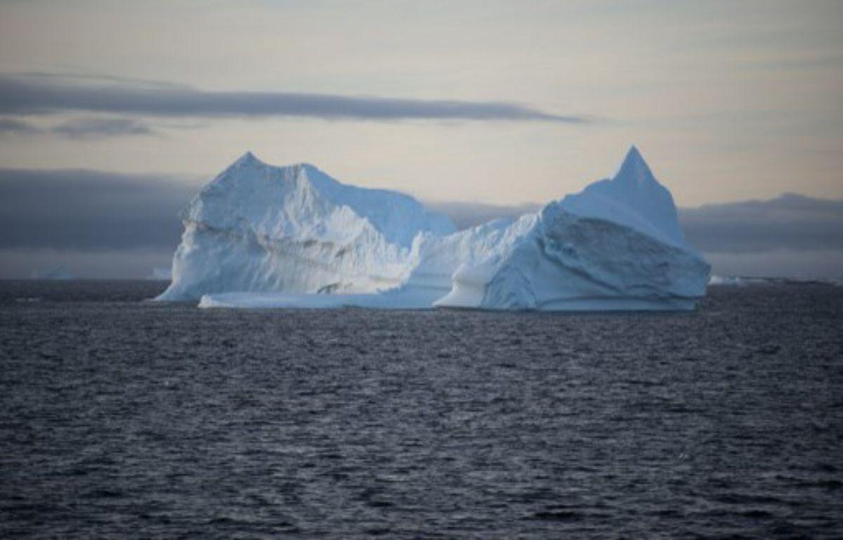 Un iceberg photographié en mars 2016 au large de l'Antarctique (photo illustration). – EITAN ABRAMOVICH / AFP