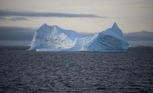 Un iceberg photographié en mars 2016 au large de l'Antarctique (photo illustration).