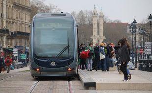 Transports en commun, tramway à Bordeaux