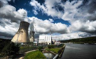La centrale nucléaire belge de Tihange, le 16 mai 2012.