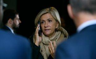 Valerie Pecresse en Seine Saint-Denis, le 31 octobre 2019.