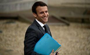 Le ministre de l'Economie et de l'Industrie Emmanuel Macron à Paris le 5 novembre 2015