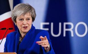 Theresa May, le 25 novembre 2018 à Bruxelles.