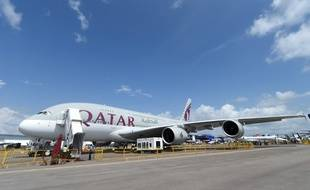 Un appareil de la compagnie Qatar Airways