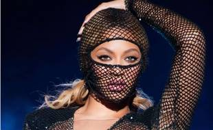 Beyoncé en concert, le 15 juillet 2014, à Atlanta.