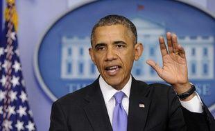 Barack Obama à la Maison Blanche le 21 mai 2014.