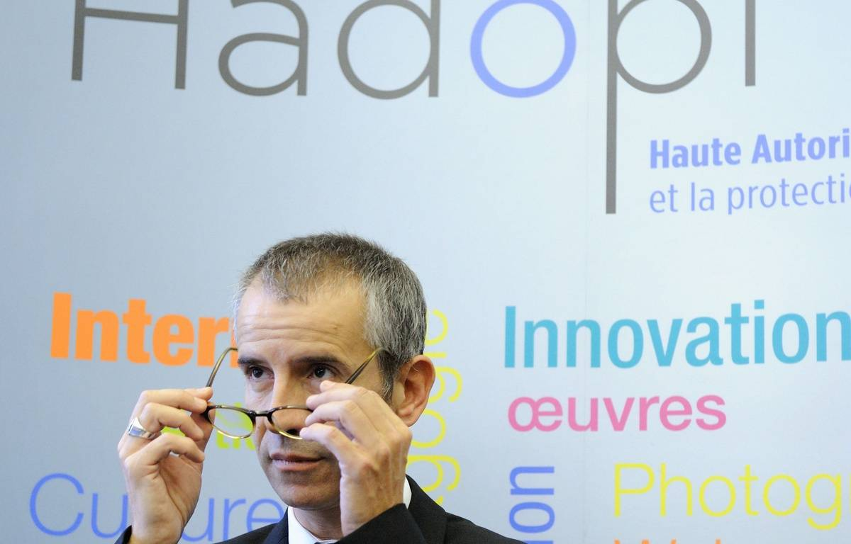 secrétaire général de l'Hadopi, le 17 octobre 2012. – WITT/SIPA