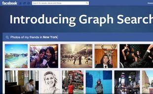 Facebook a dévoilé son nouvel outil de recherche sociale le 15 janvier 2013.