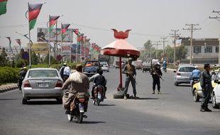 La ville de Kandahar, d'où est parti le bus. (archives)
