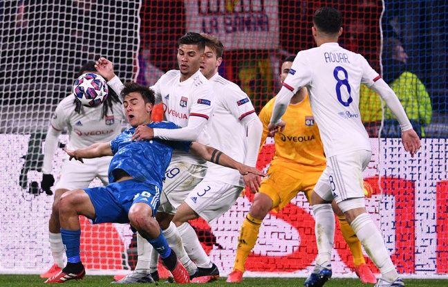 On allait entrer dans le temps additionnel d'OL-Juve lorsque Paulo Dybala s'est effondré dans la surface lyonnaise après avoir été retenu par le bras de Bruno Guimaraes. FRANCK FIFE