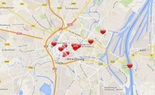 Dix lieux où faire sa déclaration d'amour à Strasbourg.