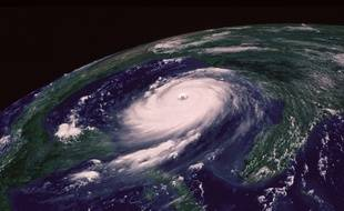 Un cyclone (Illustration).